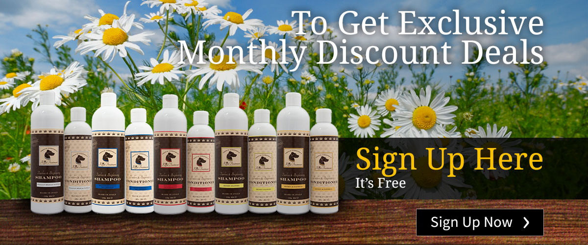 Sign up here to get exclusive monthly discount deals
