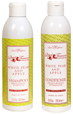 Organic Pear and Apple Dog Shampoo