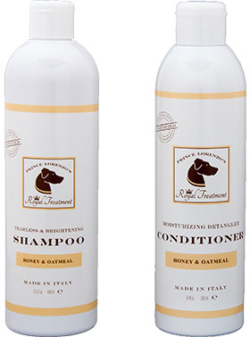Organic Honey and Oatmeal Shampoo and Conditioner Bundle
